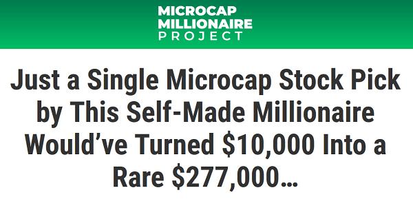 Matt McCall's Microcap Millionaire Project Event
