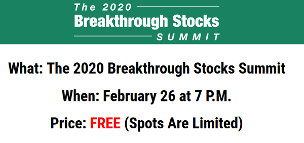 Louis Navellier's Breakthrough Stocks Summit Review