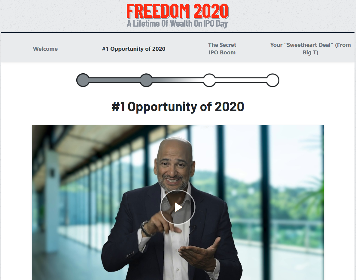 Teeka Tiwari's Freedom 2020 Pre-IPO Review