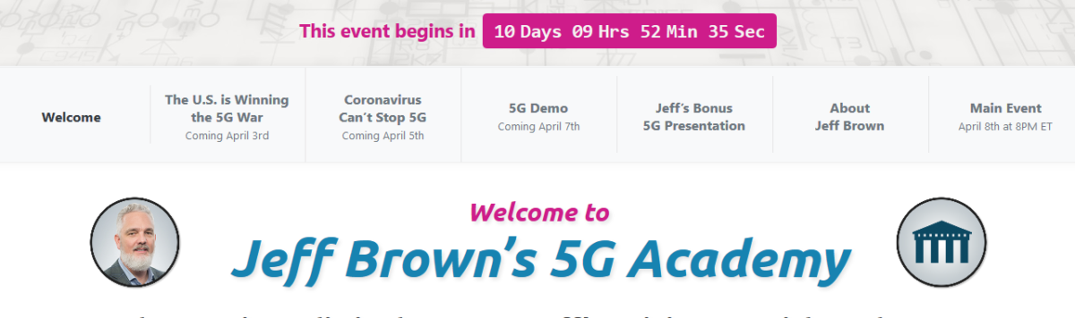 Jeff Brown's State of 5G Summit Review
