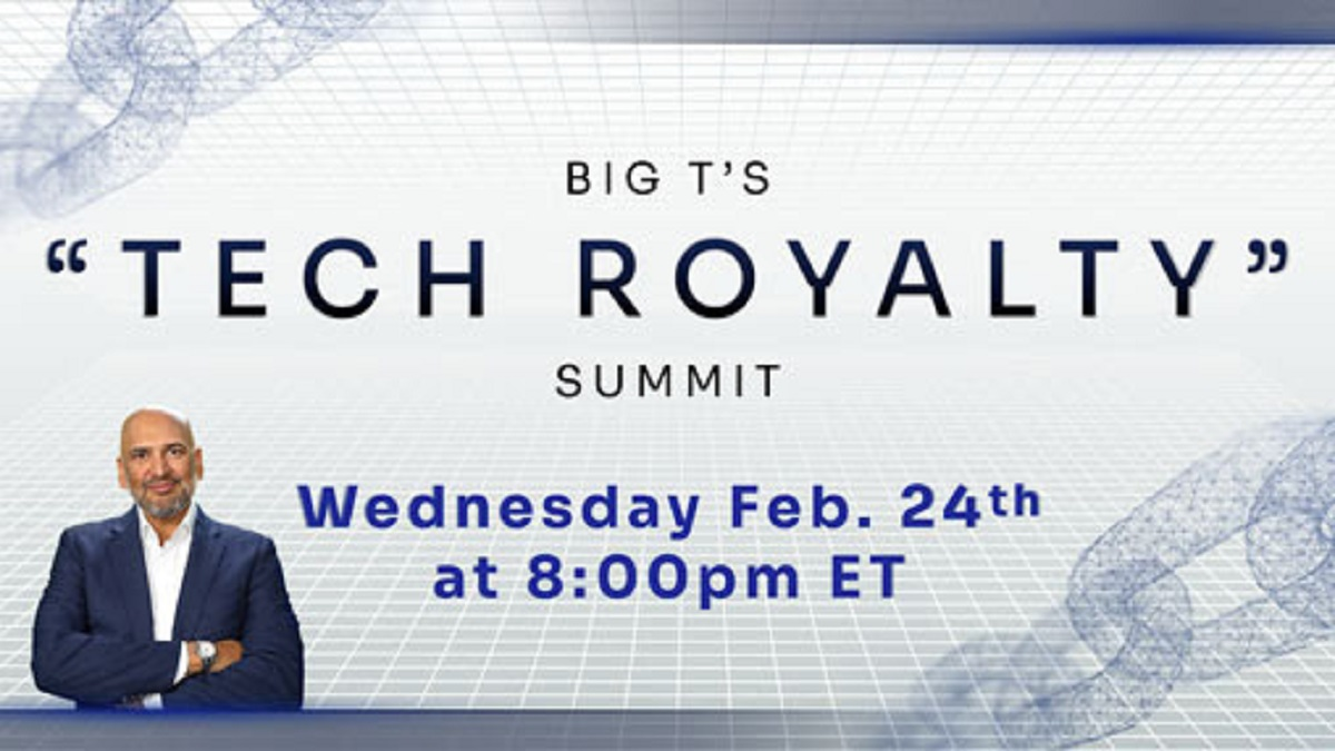 Tech Royalty Summit By Teeka Tiwari: An Opportunity More Lucrative Than $200,000 Bitcoin