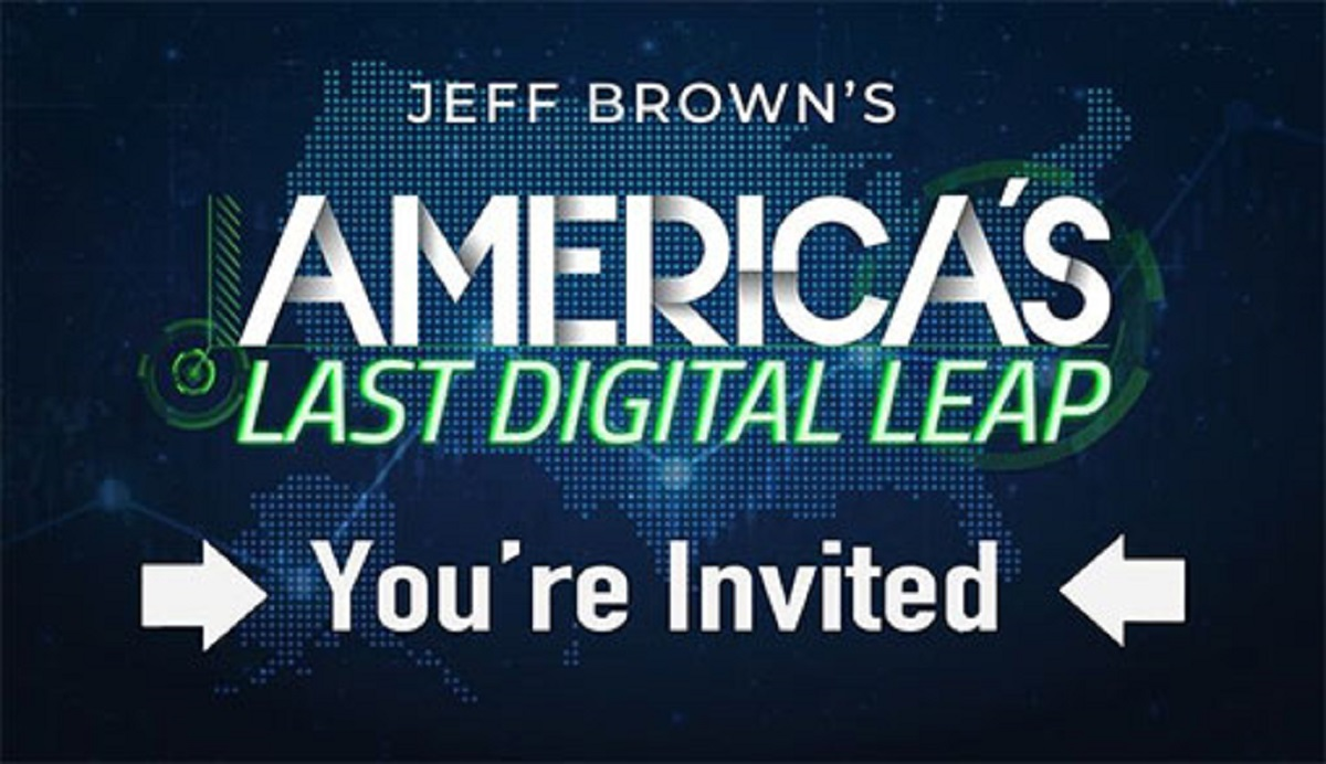 Jeff Brown's Last Digital Leap Investment Summit